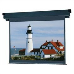 "Da-Lite 83257 83257 Boardroom Electrol Motorized Screen - 105 x 140"" by Da-Lite. $1979.82. 83257 Features: -Designed specifically for ceiling recessed installation in any conference or boardroom..-Patented in-the-roller motor mounting system for quiet operation..-Fully automatic ceiling closure conceals screen when not in use..-Standard with a Decora style three position wall switch.. Options: -The Boardroom is available with the silent motor option.."