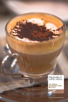 Marocchino coffee.