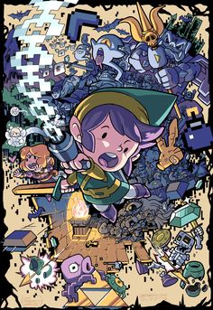 The Legend of Zelda-by Maximo Lorenzo