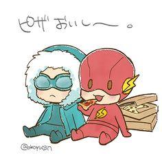 Character: Flash from Flash Jrpencil Artprint Shop: etsy ...
