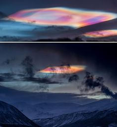 Strange Clouds Sighted over the Poles