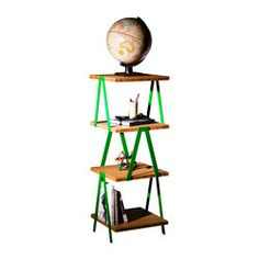 Overall dimensions 4 Tier: 1200 (H) x 410 (L) x 410 (W) mm Weight 4 Tier: 17.7 kg Materials/Finish • Bamboo ply - Organoil..