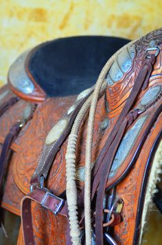 Saddle at Texas Ranch Life in Chappell Hill