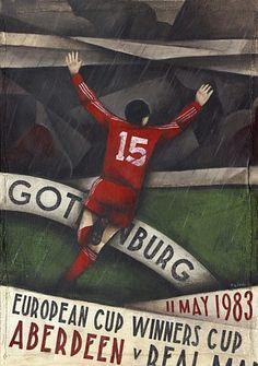 Aberdeen Football Club programme covers