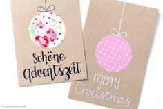 So, meine 2. Ladung Weihnachtskarten für dieses Jahr ist fertig ...