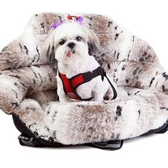 PupSaver is the only crash-tested, rear-facing, small dog car seat on the market! PupSaver's rear-facing design makes it safe to have your little friend along for the ride - in the front or back seat!