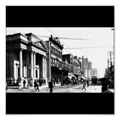 Poster-Vintage Dallas Photography-20 (Main St in 1905)