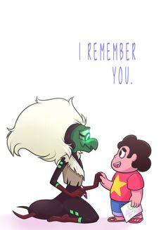 I remember you. | Steven & Centipeetle | Steven Universe | Rebecca Sugar | Cartoon Network