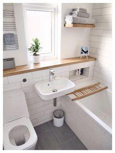 The Best Small bathroom design ideas : -ikea-bathroom-small-bathroom-ikea-ideas. Bathroom ideas,Bigger Look for Small Bathroom,small bathroom,small bathroom design ideas,small bathroom renovation ideas Bathroom Design Small, Simple Bathroom, Bathroom Interior Design, Bathroom Designs, Modern Bathroom, Bath Design, Bathroom Grey, Bathroom Tiling, Bathroom Plants