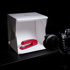 Foldio is an ingenious photography tool that allows you to shoot professional quality photos no matter where you are
