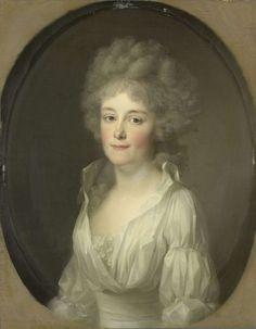 Portrait of Johanna Ferdinanda van Collen, Wife of Salomon Rendorp, Johann Friedrich August Tischbein, 1793