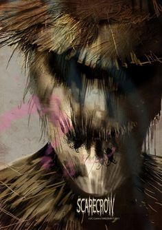 Scarecrow Fan Art by Uwe de Witt