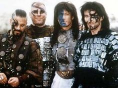 Four Horsemen - some of eldest immortals formed as a group looting during the Bronze Age in Highlander.