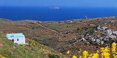 Sikamia Beach in Serifos Island, Greece