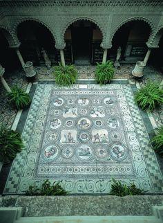 travelingcolors: Casa de Pilatos y Palacio de la Condesa de Lebrija, Sevilla (by Turismo de Sevilla)