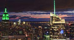 Sun setting NYC #NYC