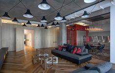 Mobilier industriel dans l'intérieur plan ouvert – 50 photos cool