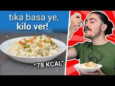 Bu Pilavın 1 Tabağı 78 Kalori! - Pirinçsiz Yalancı Pilav Tarifi ile Kilo Ver! - YouTube
