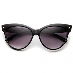 High Pointed Vintage Mod Womens Fashion Cat Eye Sunglasses Protection  Against Harmful UVA UVB Rays Designer Inspired Frame Cateye Silhouette  Frame Shape ... 5776e631d4
