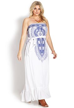 I want this so bad. It would be amazing for summer.  Free Spirit Maxi Dress | FOREVER21 PLUS - 2000070120