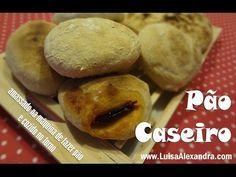 Pão Caseiro [amassado na máquina de fazer pão e cozido no forno] • www.luisaalexandra.com
