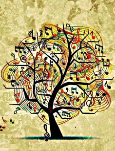 Tree Music notes