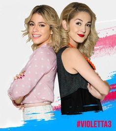 Violetta et ludmilla shoot Saison 3