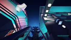 Futuristic City built in Planet Coaster