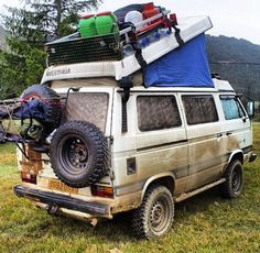 VW westfalia going camping?