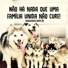 Família é tudo! #regram @auau_care #frases #família #amor #auaucare