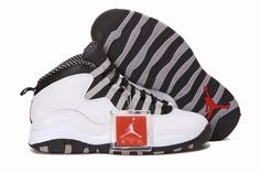 in stock 508a8 3c489 Nike Air Jordan 10 X Retro Mens Shoes White   Black   Steel Grey All kinds  of Cheap Nike Shoes are provided in Nike store with superior quality and  super ...