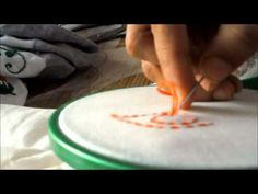 ▶ How to Stitch Kanta Work -- Hand Embroidery Tutorial - YouTube