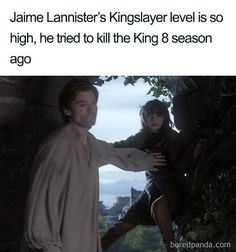 50 Game Of Thrones Finale Memes That People Can At Least Laugh About It's all over! After 8 long seasons over what feels like forever, Game of Thrones has come to an end leaving fans enthralled, bereft, disappointed and for some, Game Of Thrones Meme, Watch Game Of Thrones, Game Of Thrones Tumblr, Game Of Throne Lustig, Game Of Thones, Got Memes, Jaime Lannister, Hbo Series, Season 8
