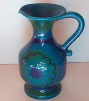 """Not Bitossi. IT STILL HAS IT'S ORIGINAL LABEL ON THE BOTTOM - VERY FADED BUT YOU CAN JUST MAKE OUT THE WORDS """"HANDMADE IN ITALY 1P 813"""" IT STANDS 21cm HIGH"""