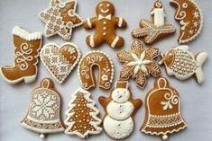 Desať nepečených čokoládových koláčov vhodných na vianočný stôl - Žena SME Christmas Mood, Santa Baby, Royal Icing, Christmas Inspiration, Cookie Decorating, Gingerbread Cookies, Biscuits, Christmas Decorations, Make It Yourself