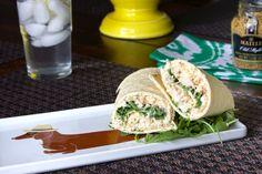 Chicken Salad Flatbread Pinwheels 7