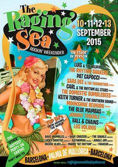 New!! The Raging Sea!! 10-11-12-13 September 2015. Barcelona-Palma de Mallorca. Spain.