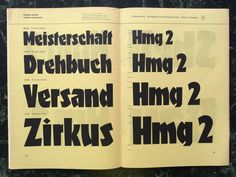 All sizes | Berthold Plakatschriften / Poster Type / Caractères d'affiches | Flickr - Photo Sharing!