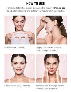 fcba2c1430dc4 Instructions for Use of Avon s facial mask - See http   bit.ly
