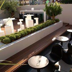 Jardín terraza BB Lounge Bar