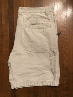 13307cf916 Columbia Mens Size 34 Cargo Shorts Color Ivory #fashion #clothing #shoes  #accessories