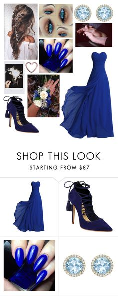 """""""Prom Night"""" by kellimagine ❤ liked on Polyvore featuring Schutz, Kiki mcdonough and Fujifilm"""