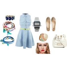 """Summer Denim"" by mclucky16 on Polyvore"