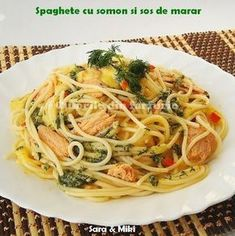 Pasta, Salmon Recipes, Food And Drink, Cooking Recipes, Vegan, Chicken, Ethnic Recipes, Inspiration, Kitchens