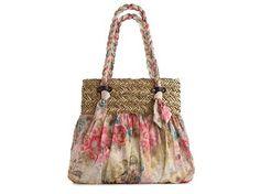 Poppie Jones Soft Handle Pastel Floral Shopper Florals & Pastels Spring Trend Focus Handbags - DSW