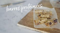 Protein bars with cherries and dark chocolate Quebec, Muffin Bread, Salty Snacks, Smart Kitchen, Energy Bites, Breakfast Smoothies, Protein Bars, Brunch, Clean Eating
