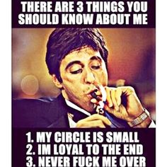 3 things to know about me maybe 10 lol Scarface Quotes, Real Talk, Gods Love, True Stories, Make Me Smile, Life Lessons, Wise Words, Favorite Quotes, Me Quotes