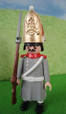 Playmobil Russian Grenadier in greatcoat - Napoleonic Wars (Austerlitz).