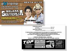 Balada Sertaneja - Extreme (Convite)