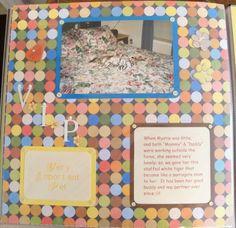"""Very Important Pet"" Scrapbook layout 12x12"